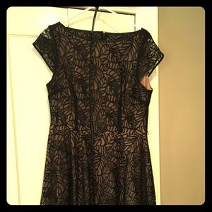Black Label lace dress size 14